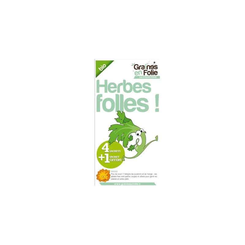 Coffret Graines d'herbes Aromatiques Bio