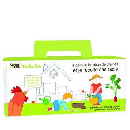 Jardinière pour enfants - Radis