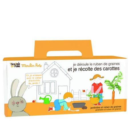 Jardinière pour enfants - Carottes