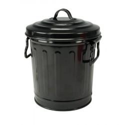 Poubelle de table Noir