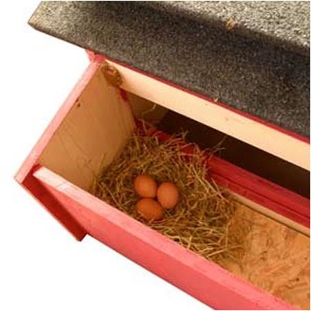 Poulailler Découverte gris 1 à 4 poules