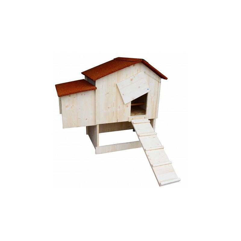 poulailler et pondoir en pic a pour 2 4 poules made in. Black Bedroom Furniture Sets. Home Design Ideas