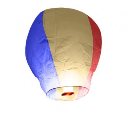 Lanterne volante Bleu Blanc Rouge (X1)