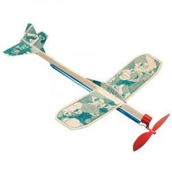 Maquette Avion en Balsa avec Elastique - In The Cloud