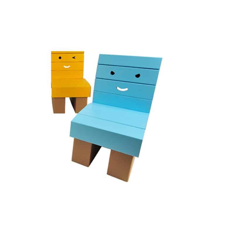 Revêtement chaise enfant Bleu
