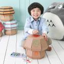 Tabouret enfant en carton à colorier