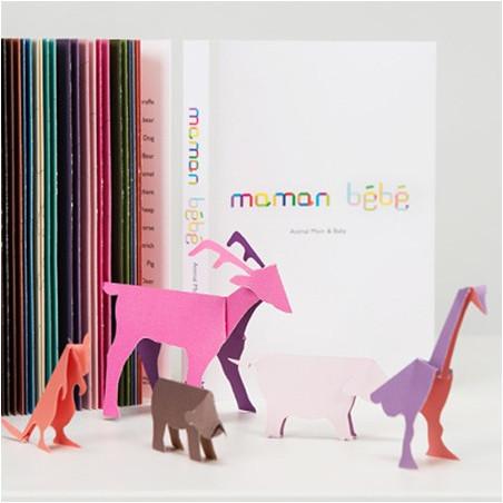 Livre Origami 28 Animaux à découper