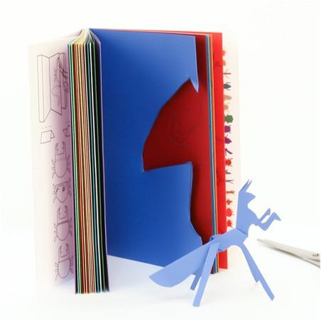 Livre Origami 33 Insectes à découper