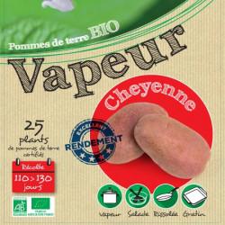 Cheyenne Biologique (Chair rose) 25 Plants de pomme de terre