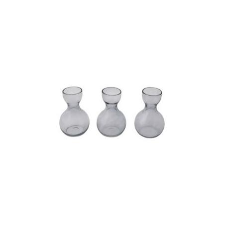 Set 3 vases Bleus Crocus