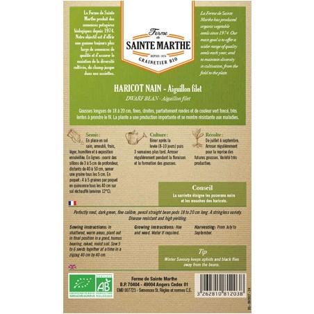 Boite de Graines d'Haricots Bio sans fil Autan