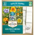 Tapis de Graines de Fleurs Comestibles et Utiles Bio