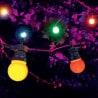 Guirlande guinguette 10 mètres multi-couleur