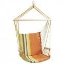 Chaise hamac multicolore