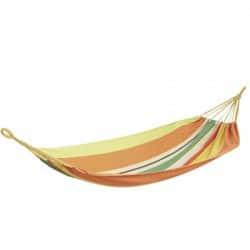 Hamac rayé multicolore