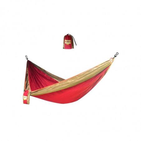 Hamac parachute rouge 2 personnes