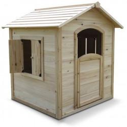 Maisonnette enfant en bois pour le jardin