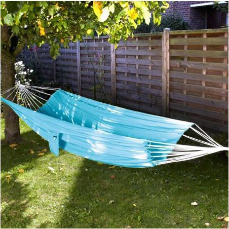 Hamac parachute bleu azur 1 personne