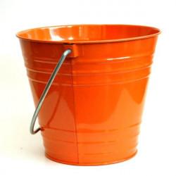 Seau de jardin orange