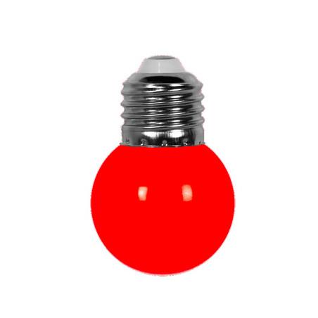 Ampoule rouge E27 pour guirlande extérieure