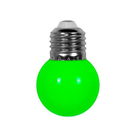 Ampoule verte E27 pour guirlande extérieure