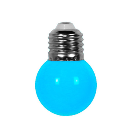 Ampoule Bleue E27 pour guirlande extérieure