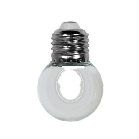 Ampoule Transparente E27 pour guirlande extérieure