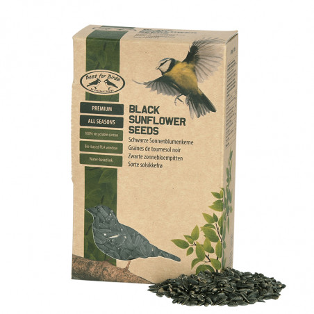 Graines de tournesols noires pour oiseaux