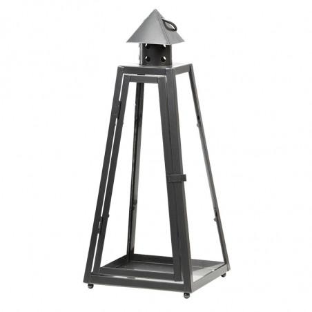 Lanterne en zinc forme pyramide S