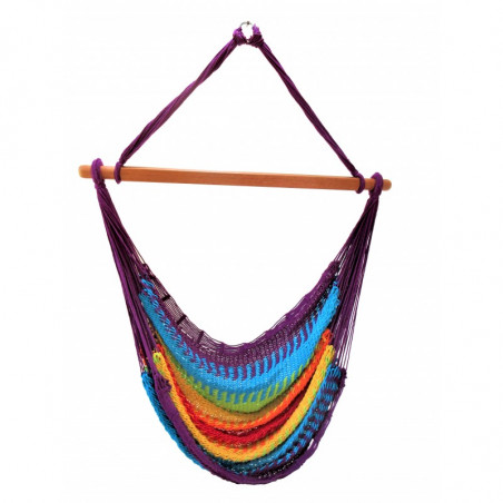 Chaise Hamac Filet multicolores