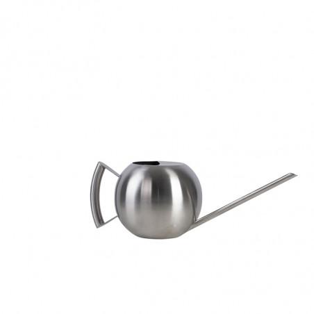 Arrosoir design rond en acier inoxydable