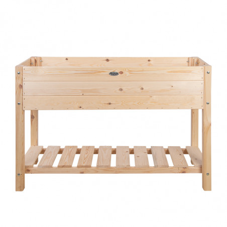 Carré potager L bois naturel 119 x 41cm