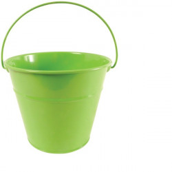 seau de jardin enfant vert