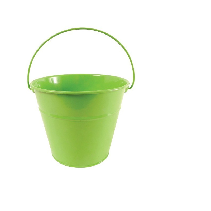 seau enfant vert
