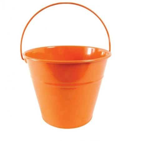 seau enfant orange