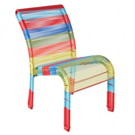 Chaise jardin enfant multicolore