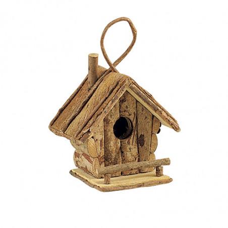 Nichoir maison en bois pour oiseaux