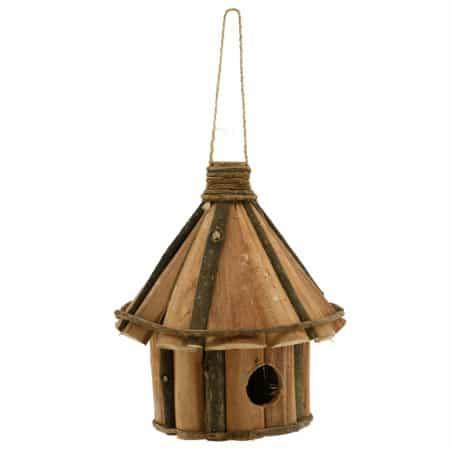 Nichoir maison en bois Hauteur 25 cm