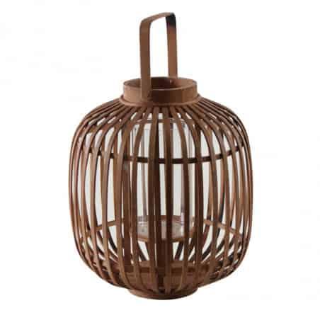 Lanterne en bambou 36 cm
