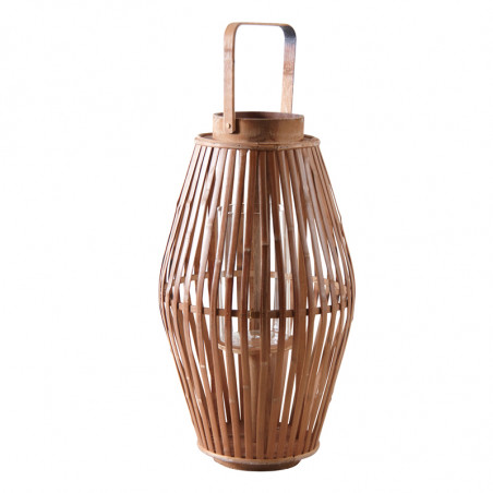 Lanterne en bambou 47 cm