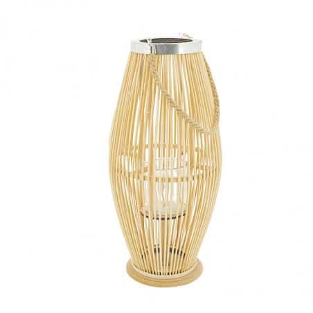 Lanterne en rotin 59 cm