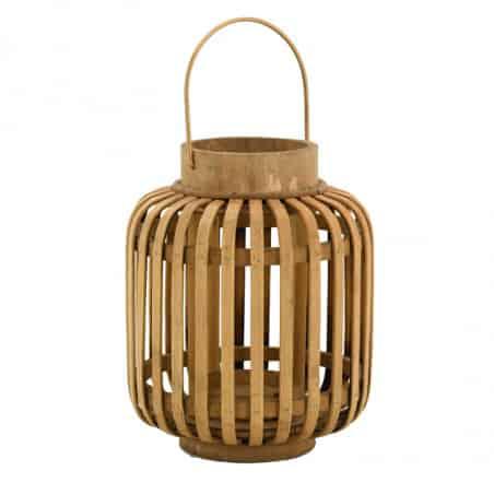 Lanterne en bambou 24 cm