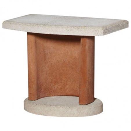 Table extérieure en béton pour Barbecue