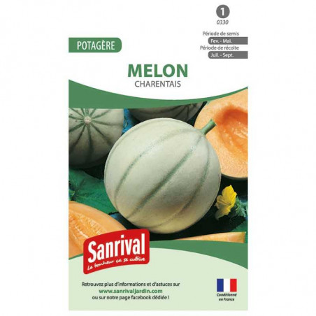 Graines Melon Charentais