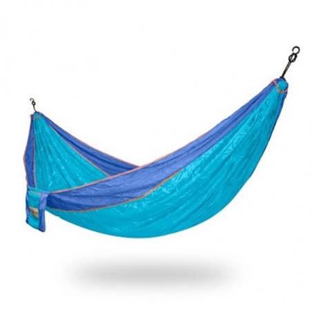 Hamac parachute bleu 2 personnes