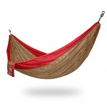 Hamac parachute marron 2 personnes