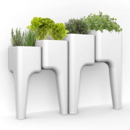 Carré de Potager Design Blanc XL