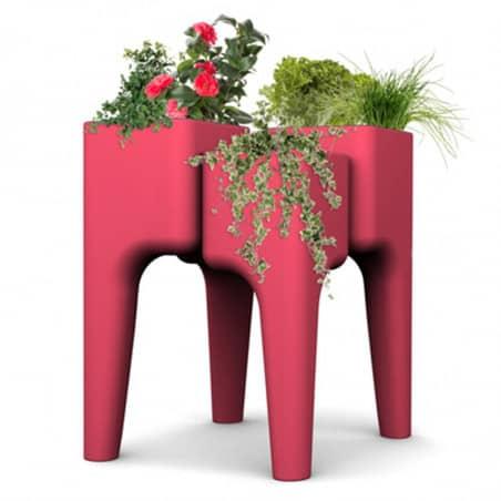 Table à Jardiner Design Rouge M