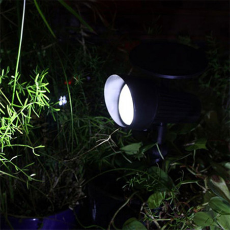 Spot solaire jardin 30 lumens