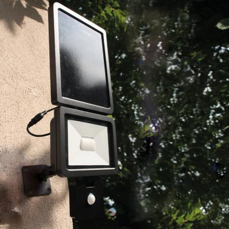 Projecteur solaire Xenon Noir